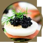 Exclusive Caviar Menu